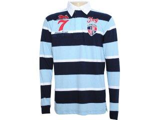 Camisa Masculina Tng I11mpl29 Azul - Tamanho Médio