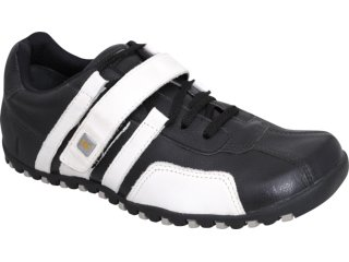 Sapato Masculino West Coast 8321 Preto/branco - Tamanho Médio