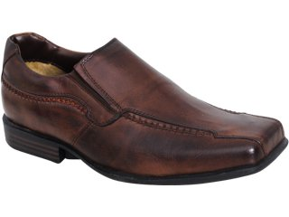 Sapato Masculino Spacus 8050 Tabaco - Tamanho Médio