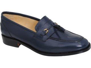 Sapato Masculino Sandi Ef-01 Marinho - Tamanho Médio
