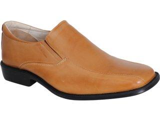 Sapato Masculino Art News 28004 Tan - Tamanho Médio