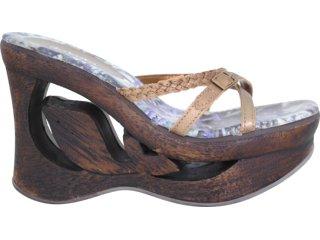 Tamanco Feminino Dakota 6801 Bronze - Tamanho Médio