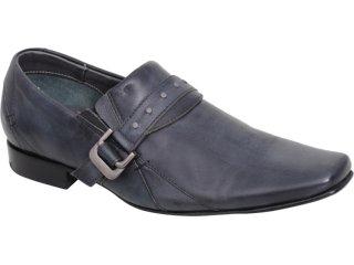 Sapato Masculino Ferracini 5631 Chumbo - Tamanho Médio