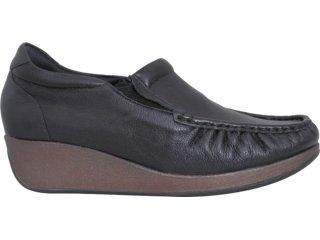 Sapato Feminino Usaflex 5743 Preto - Tamanho Médio