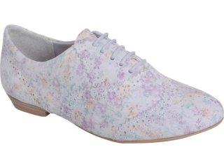 Sapato Feminino Ramarim Oxford 119201 Gelo - Tamanho Médio