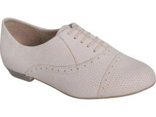 Sapato Feminino Ramarim Oxford 119202 Natural - Tamanho Médio