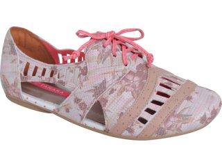Sapato Feminino Tanara Oxford 2484 Creme - Tamanho Médio