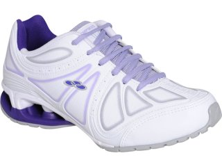 Tênis Feminino Olympikus Power 755 Branco/lilas - Tamanho Médio