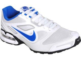 Tênis Masculino Nike 427428-104 Air Max Branco/azul - Tamanho Médio