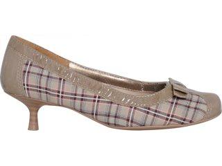 Sapato Feminino Dakota 9624 Rato/xadres - Tamanho Médio