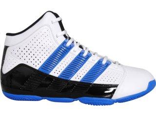 Tênis Masculino Adidas Commander G24265 Bco/pto/azul - Tamanho Médio