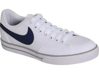 Tênis Masculino Nike Navaro 429782-103 Branco/marinho - Tamanho Médio
