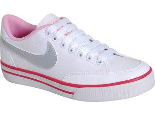 Tênis Feminino Nike 431908-103 Navaro Branco/pink - Tamanho Médio