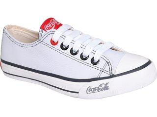 Tênis Feminino Coca-cola Shoes Cc0631000 Branco - Tamanho Médio