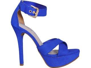 Sandália Feminina Via Marte 11-14301 Azul - Tamanho Médio