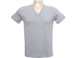 Camiseta Masculina Cavalera Clothing 01.01.6186 Cinza - Tamanho Médio