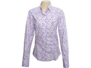 Camisa Feminina Dudalina 232.601.210 Floral Lilas - Tamanho Médio