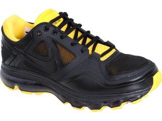 Tênis Masculino Nike Trainer 454174-007 Preto/amarelo - Tamanho Médio