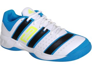 Tênis Masculino Adidas Stabil Essence U42155 Branco/azul - Tamanho Médio