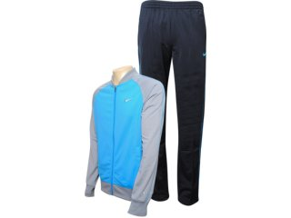 Abrigo Masculino Nike 425945-422 Azul/preto - Tamanho Médio
