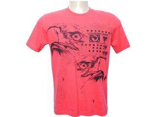 Camiseta Masculina Cavalera Clothing 01.01.5835 Vermelho - Tamanho Médio