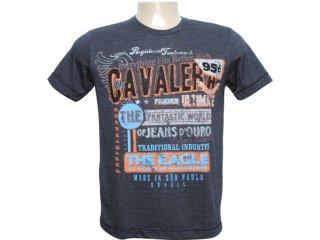 Camiseta Masculina Cavalera Clothing 01.01.6068 Preto - Tamanho Médio