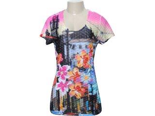 Camiseta Feminina Dopping 015051521 Color - Tamanho Médio