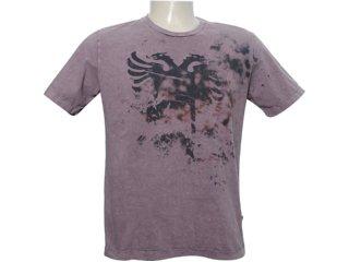 Camiseta Masculina Cavalera Clothing 01.01.5915 Marrom - Tamanho Médio