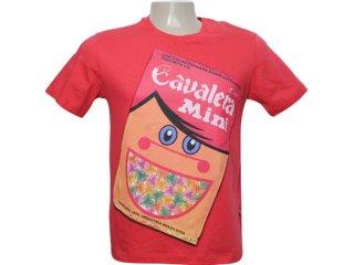 Camiseta Masculina Cavalera Clothing 01.01.5838 Vermelho - Tamanho Médio