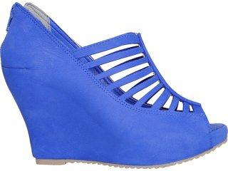 Summer Boot Feminina Ramarim 1124205 Azul - Tamanho Médio