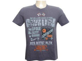 Camiseta Masculina Cavalera Clothing 01.01.6092 Grafite - Tamanho Médio