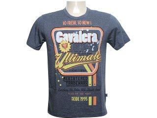 Camiseta Masculina Cavalera Clothing 01.01.6067 Preto - Tamanho Médio