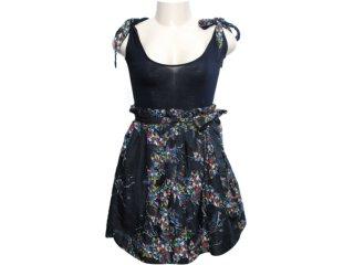 Vestido Feminino Cavalera Clothing Cavalera 11.01.0449 Preto - Tamanho Médio