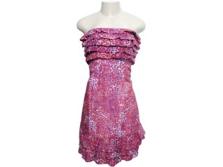 Vestido Feminino Checklist 65.04.0029 Estampada - Tamanho Médio