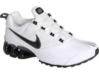 Tênis Masculino Nike Impax 371343-105 Branco/preto - Tamanho Médio