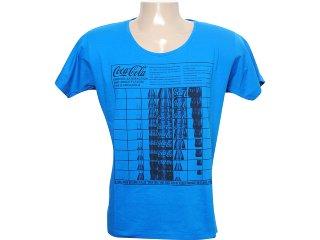 Camiseta Masculina Coca-cola Clothing 353202435 Azul - Tamanho Médio