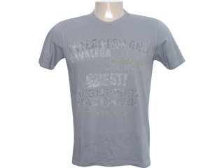 Camiseta Masculina Cavalera Clothing 01.01.6086 Chumbo - Tamanho Médio