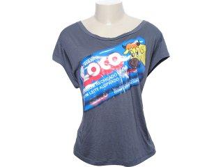 Camiseta Feminina Cavalera Clothing 09.02.0826 Grafite - Tamanho Médio