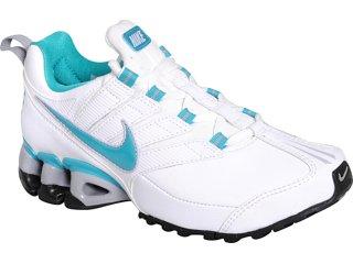 Tênis Feminino Nike Impax Contain 442472-101 Branco/celeste - Tamanho Médio