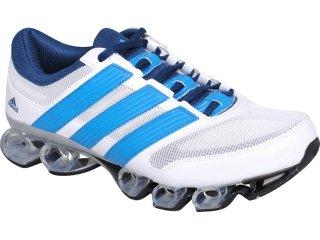 Tênis Masculino Adidas Titan U44360 Branco/azul - Tamanho Médio