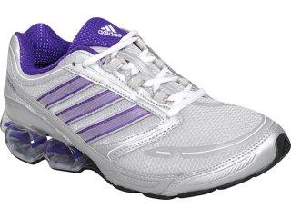 Tênis Feminino Adidas Devotion G41542 Prata/roxo - Tamanho Médio