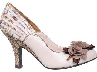 Sapato Feminino Tanara 2491 Pele - Tamanho Médio