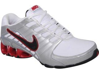 Tênis Masculino Nike Impax Atlas 428972-016 Pta/bco/verm - Tamanho Médio