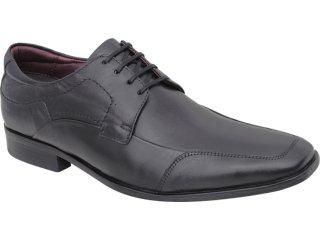 Sapato Masculino Democrata 013102 Preto - Tamanho Médio