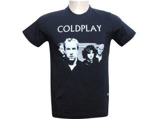 Masculina Cavalera Clothing Cavalera Camiseta Coldplay 01.01.5356 Preto - Tamanho Médio