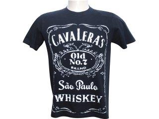 Camiseta Masculina Cavalera Clothing 01.01.6049 Preto - Tamanho Médio