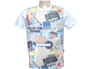 Camiseta Masculina Dopping 015260570 Estampada - Tamanho Médio