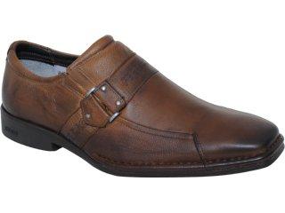 Sapato Masculino Ferracini 3821 Castanho - Tamanho Médio