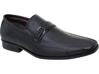 Sapato Masculino Democrata 0130101 Preto - Tamanho Médio