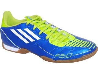 Tênis Masculino Adidas f5 in G29106 Azul/limão - Tamanho Médio